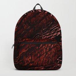 Alaska Red Marble Backpack
