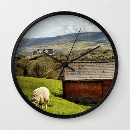 View of Robin Hoods Bay Wall Clock