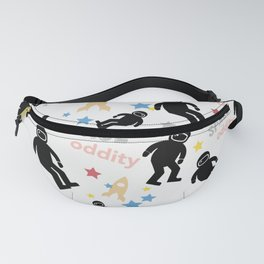 Space oddity astronaut pattern Fanny Pack