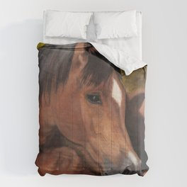 Little Brown Filly Comforters