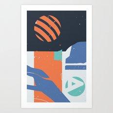 Terglitoj Art Print