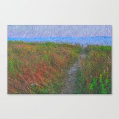 Path to the Sea Canvas Print