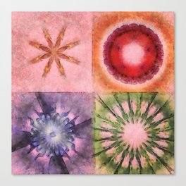Homologist Layout Flowers  ID:16165-145206-08810 Canvas Print