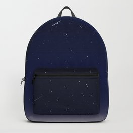 Night Sky Shooting Stars Beautiful Backpack
