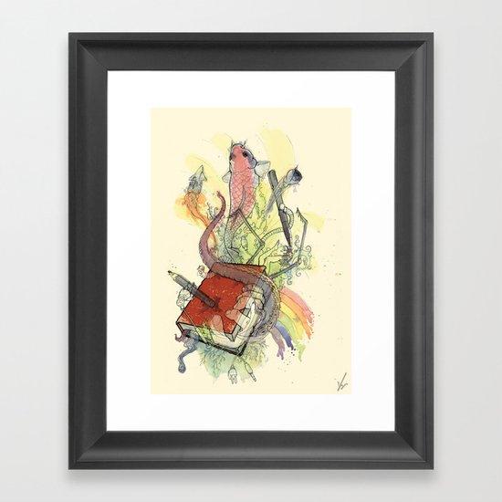 Sketchbook Life Framed Art Print