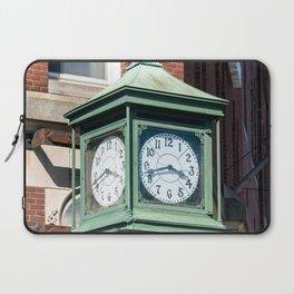Antique Street Clock Laptop Sleeve