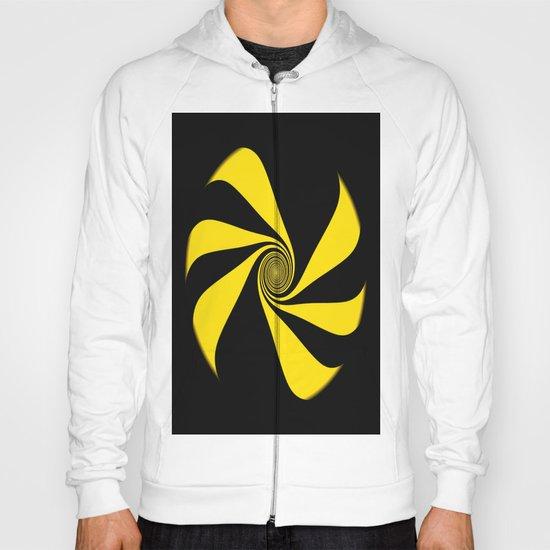 Abstract. Yellow Ribbon. Hoody