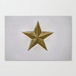 Soviet Star World War 2 Canvas Print