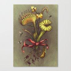 Carnivorous Bouquet Canvas Print