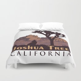 Joshua Tree National Park. Duvet Cover