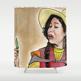 La India Maria Shower Curtain