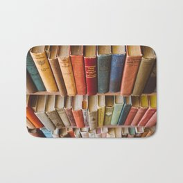 The Colorful Library Bath Mat