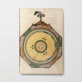 Peter Apian - Astronomicum Caesareum 1540 - 27 Conjunctions of Saturn, Jupiter and Mars Metal Print