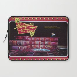 Marquee Motel in North Wildwood, New Jersey. 1960's Retro Motel Laptop Sleeve