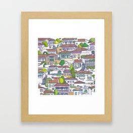 MUGLA OLDTOWN  Framed Art Print