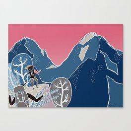 Slovenian mountains Canvas Print
