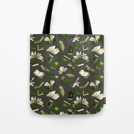 Spellbooks, green Tote Bag