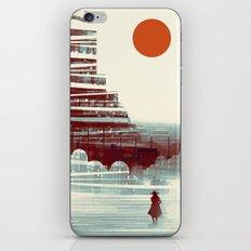 GRIT Blue iPhone & iPod Skin