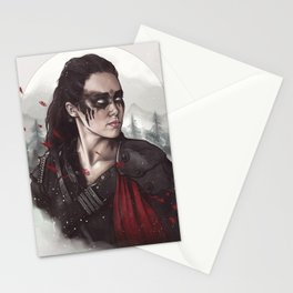 Commander Lexa Stationery Cards