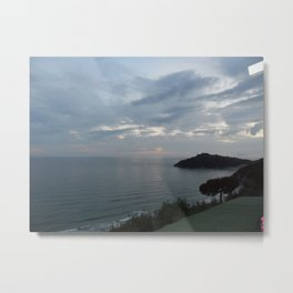 Gaeta Sea View Metal Print