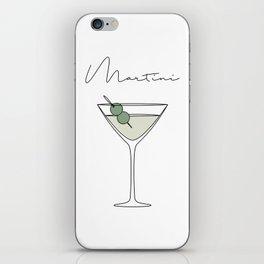 Martini iPhone Skin