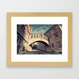 Bridge of sighs - Oxford Framed Art Print