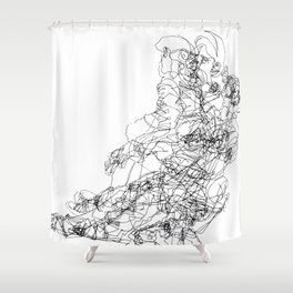 Transitions Distilled Shower Curtain