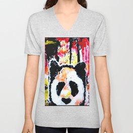 Rogue Panda - Animal Art Unisex V-Neck