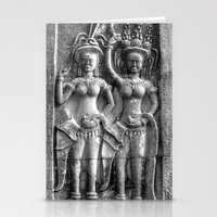 erotic Stationery Cards featuring Cambodian Erotic Goddesses by 1976