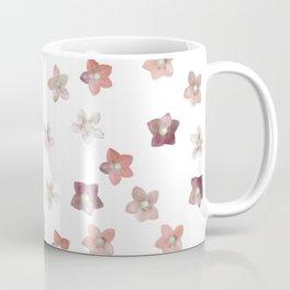 Flower Christmas Rose on white Coffee Mug