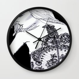 Freesia Wall Clock