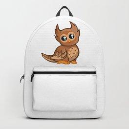 Cartoon Baby Owl Backpack