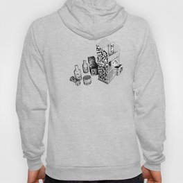 Black and White Everyday Life Internet of Things Hoody