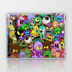 Monsters Doodles Characters Saga Laptop & iPad Skin