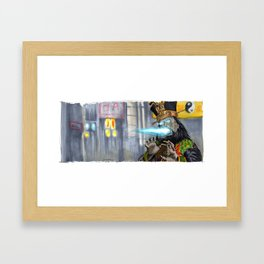 Big Trouble in Little China - Lo Pan Framed Art Print