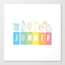 SUMMER! Canvas Print
