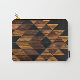 Urban Tribal Pattern 11 - Aztec - Wood Carry-All Pouch
