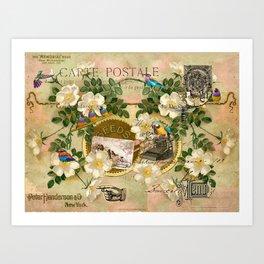 La Carte Postale Art Print