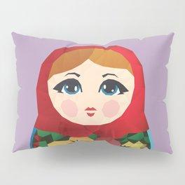 Matryoshka Polygon Art Pillow Sham