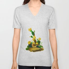 Grass Finch or Bay-Winged Bunting Unisex V-Neck