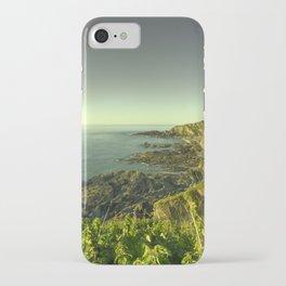 North Devon Coastscape iPhone Case