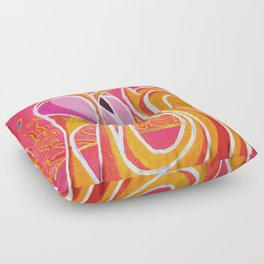 dreaming landscape Floor Pillow