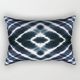 WAKE UP CALL INDIGO Rectangular Pillow
