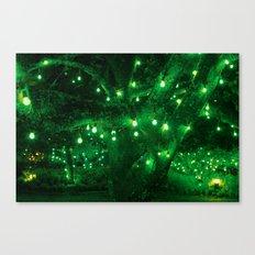 Light bulb garden Canvas Print
