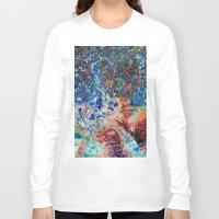 splatter Long Sleeve T-shirts featuring Splatter by Stephen Linhart
