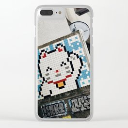 Konichiwa Clear iPhone Case