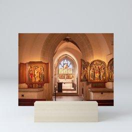 Diem Monasterium interiorem Mini Art Print