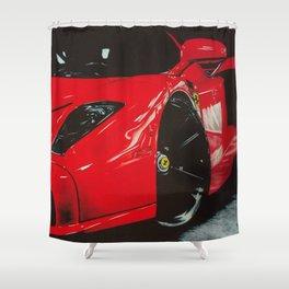 ROJO CLASICO Shower Curtain