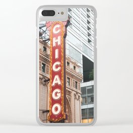 Chicago Theatre Clear iPhone Case