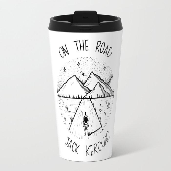 On the road - Jack Kerouac Travel Mug